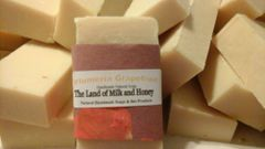 Plumeria Grapefruit handmade soap
