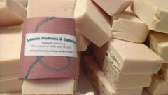 Lemon Verbena and Oatmeal Goat milk and honey soap