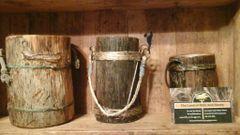 Natural handmade buckets