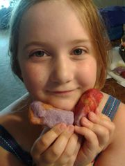 Anna's sample sized felted soaps!..set of three
