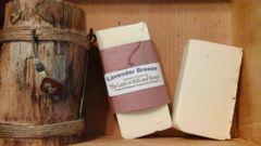 Lavender Breeze natural handmade soap