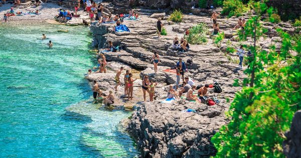 Discover The Grotto Bruce Peninsula National Park