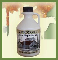 1 Quart Pure Vermont Maple Syrup