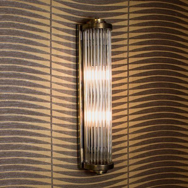 850B) GATSBY MEDIUM DECO WALL LIGHT | The Limehouse Lamp Company