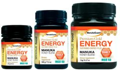 MANUKAGUARD HONEY PREMIUM GOLD ENERGY BLEND MGO 40 - 8.8 oz