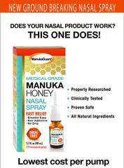 MANUKAGUARD HONEY MEDICAL GRADE NASAL SPRAY