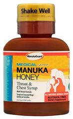 MANUKAGUARD HONEY MEDICAL THROAT & CHEST SYRUP