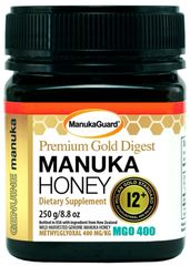 MANUKAGUARD HONEY PREMIUM GOLD DIGEST 12+ MGO 400