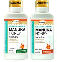 MANUKAGUARD MEDICAL GRADE HONEY NUTRALIZE - GINGER/PEACH