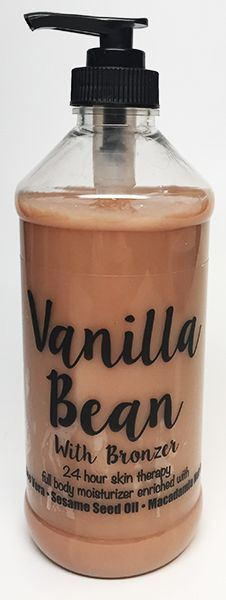 VANILLA BEAN WITH BRONZER (8 OZ)