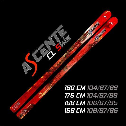 Ascente CL Mogul Skis