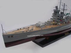 "Graf Spee German Battleship Ship Model 39"""