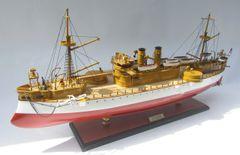 "USS MAINE (ACR-1) Battleship Model 32"""