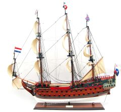 Dutch De Zeven Provincien Tall Ship Assembled 37""