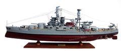 "US Navy USS Arizona 36"" BB-39 Desk Top Display Battleship Ship"