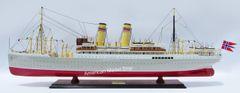 "SS BERGENSFJORD Norwegian Ocean Liner 40"""