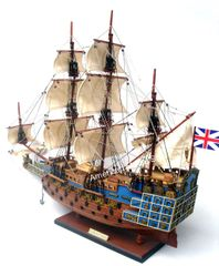 HMS Sovereign of the Sea Model Tall Ship 20""