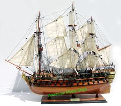 HMS Bellona Museum Quality Tall Ship Model 36""