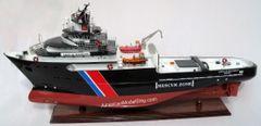 "Abeille Bourbon Tug Boat Ship Model 33"""