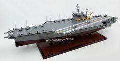 "USS AMERICA CV-66 Battleship Model 39"" Scale 1/300"