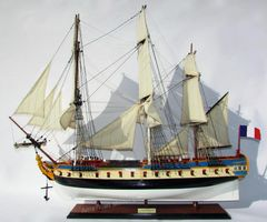 La Fayette Hermione Model Ship 37""