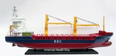 "BBC BREAK BULK Container Ship Model 39"""