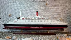 Queen Elizabeth II Cruise Ship Model 39""