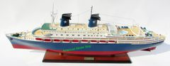 MS Achille Lauro Italy 1947Cruise Ship Model 40""