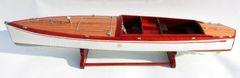 "Speedboat Designed by Charles D Mower Number Boat 33"""