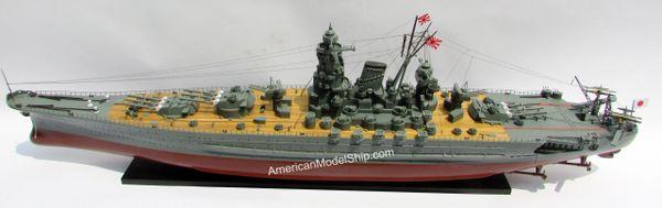 Battleship YAMATO Japanese Navy Ship Model 47
