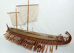 Ancient Trireme Greek 400 B.C