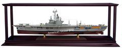 "Display Case Self-Assemble Included Acrylic for Any CRUISE SHIPS / WarShips / Container Ships 38"" - 43"""