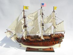 BONHOMME RICHARD Tall Ship Model 38""