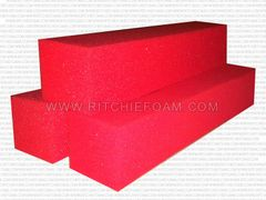 "24"" x 6"" x 6"" Gymnastic Pit Foam Log Cubes/Blocks 500 pcs (Red)"
