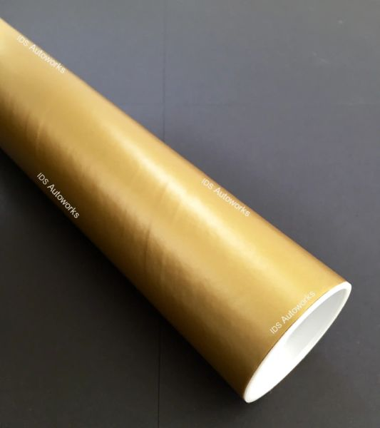 - up to 50% Discount - Matte Gold Wrapping Vinyl - Bubble Free Car Wrap