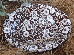 Brown Calico Soap dish