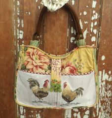 Country French Rooster Bag