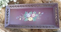 Brown Tin Tray