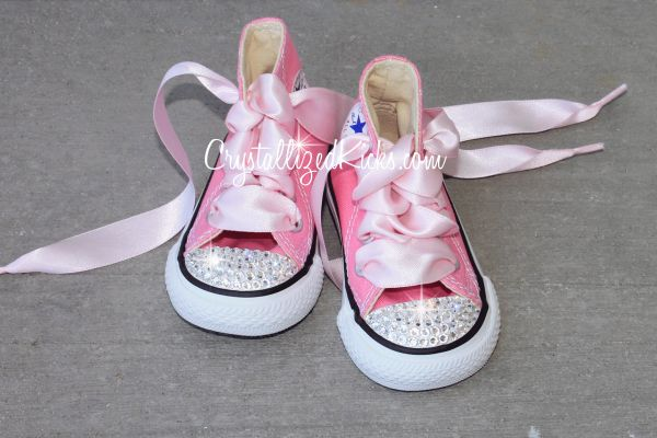 8e1820a94c0854 Converse All Star Kids Made with Swarovski Crystals