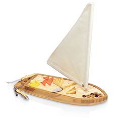 Sailboat Cheese Board