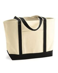 Liberty Bags - Large 16 Ounce Cotton Canvas Tote TPKC
