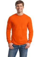Gildan® - DryBlend® 50 Cotton/50 Poly Long Sleeve T-Shirt. 8400.