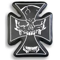 skull cross seat suction cup seats