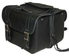 "Medium 2 Strap Saddle Bag 15"" x 11"" x 6"""