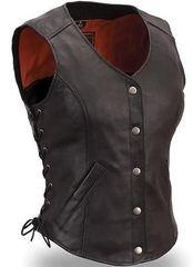 Womens Lace side Concealment Vest