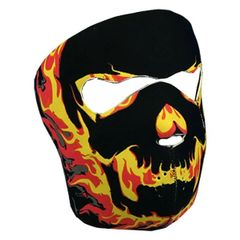 Blackout Skull Neoprene Facemask