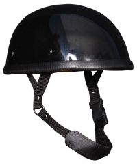 Gloss Black E-Z Rider Novelty Helmet