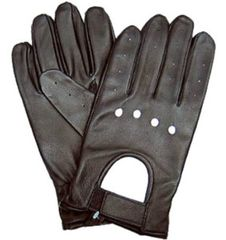 Velcro Driving Gel Palm Gloves