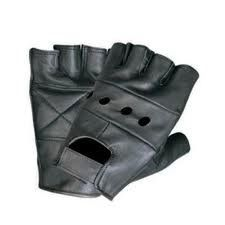 Leather Fingerless Gloves