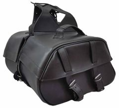"Medium 2 Strap Saddle Bag 16"" x 10"" x 6"""